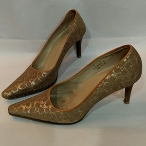 Coach Shawna Heels Made in Italy Size 8